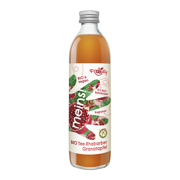 Froody - Bio Tee Granatapfel Rhabarber